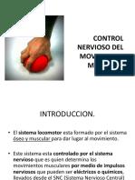 11 Control Nervioso Del Movimiento Muscular