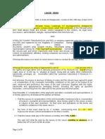 Deaft Agreement