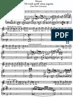 Mozart Don Giovanni Mi Tradi Quell Alma Ingrata