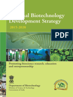 National Biotectnology Strategy
