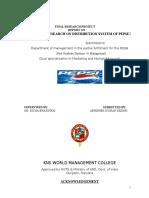 marketresearchondistributionsystemofpepsi.doc