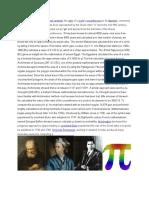 history of pi
