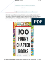 100 Funny Charter Books for Kids