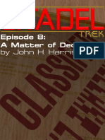 Citadel 8 - A Matter of Deception