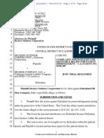 Deckers v. DB Shoe - Complaint