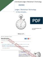 Blockchain in 5 Minutes