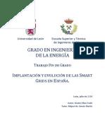 Implantación y Evolución de Smart Grid en España