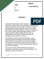 Autometic Street Light Controller