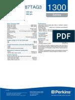 Manual Motor Perkins 1306a-e87tag3