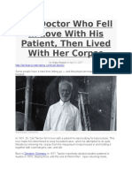 The Doctor Who Fell in Love With His Patient