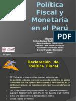 Grupo 1 - Politica Fiscal y Monetaria en El Peru