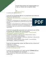 Preguntas ITIL 2