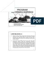 Program Reformasi Koperasi