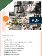 Rock Mechanics Lecture1