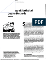 A Review of Statistical Outlier Methods