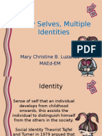 Many Selves, Multiple Identities
