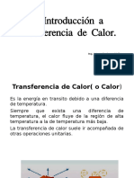 Introduccion a Transferencia de Calor