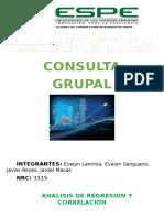 Consulta Regresion Lineal