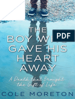 The Boy Who Gave His Heart Away by Cole Moreton - an extract