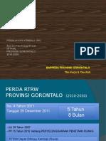 Materi PK RTRW Gorontalo
