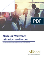 Missouri Workforce Initiatives and Issues