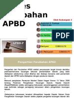 Proses Perubahan APBD Kel 3 Fi