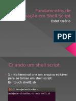 Fundamentos de programação em Shell Script