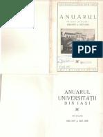 Anuarul Universitatii din Iasi 1926-1927-1928