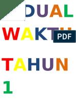 JADUAL WAKTU TAHUN 1.docx