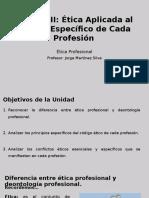 1 Unidad III Ética Aplicada Al Ámbito Específico de Cada Profesión