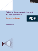 What is the Economic Impact of Geo Services 1