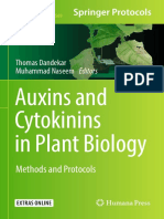 Auxins and Cytokinins in Plant Biology Methods and Protocols