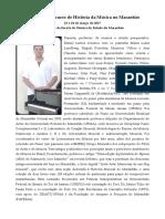 Minicurso de História da Música no Maranhão - Release