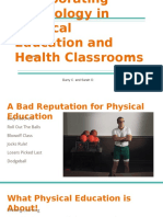 incorporating technology in physical education classrooms  1