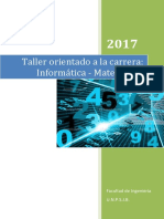 Taller Ingreso 2017 Inf Mtca