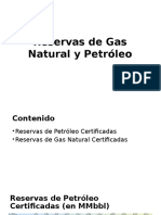 Reservas de Gas Natural y Petroleo