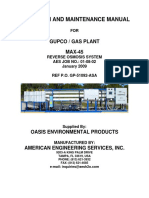 Reverse OSmosis Manual
