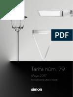 201704 Simon Lighting Tarifa 79 Es Iluminación Exterior 2017