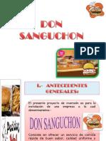 DON SANGUCHON Finallllllll