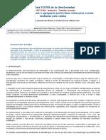 Fluxos Informacionais e Agregação Just-In-time_ Interações Sociais Mediadas Pelo Celular - Revista TEXTOS de La CiberSociedad