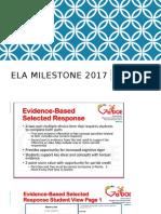 changes to milestones 4 18 2017
