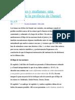 2300 Tardes y Mañanas Una Revision de La Profecia de Daniel 8 14