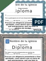 Diplomas Cristianos (1)