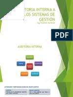 Auditoria Interna a Los Sistemas de Gestión