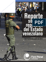 Reporte Represión Abril17