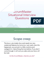 ScrumMaster Interview Questions