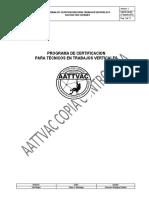 2 - Programa de Certificacion - AATTVAC