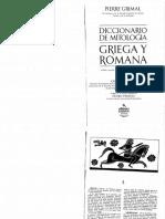 Diccionario de Mitologia Griega y Romana Pierre Grimal PDF