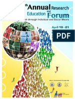 37th Annual Research and Education Forum Program