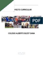 Proyecto Curricular Versión Marzo 2017 (2)